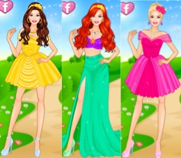 Barbie Disney Prensesi Oyna