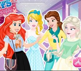 Disney Prensesler Grubu Oyna