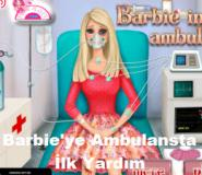 Barbie'ye Ambulansta İlk Yardım