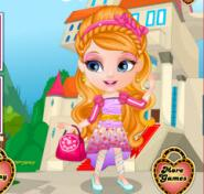 Bebek Barbie Ever After High Kostümleri