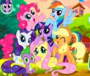 My Little Pony Eğlenceli Puzzle